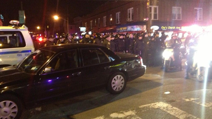 Arrests in Brooklyn in 3rd night of police brutality protest (PHOTOS)