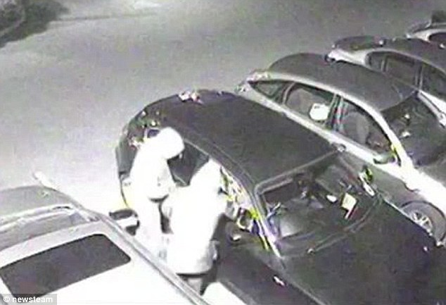 Gone in 20 seconds: Theft of BMW caught on camera as two brothers are jailed …