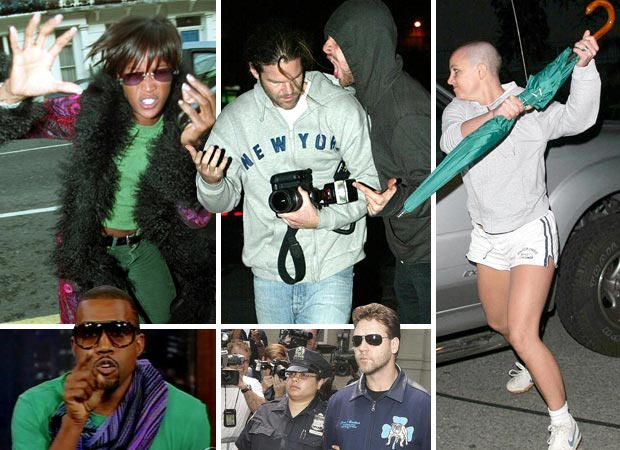 Top ten celeb scuffles: When stars attack
