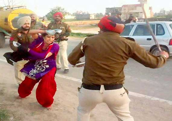 HC rap gets woman victim of police brutality CRPF cover