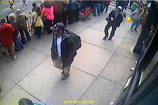 Boston Marathon: Suspect's shootout with cops caught on camera