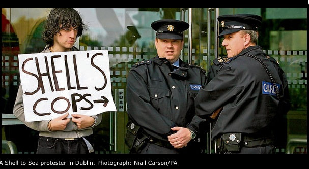 Corruption of the Irish Police by Royal Dutch Shell