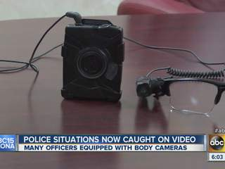 Caught on camera: More police departments using body cameras