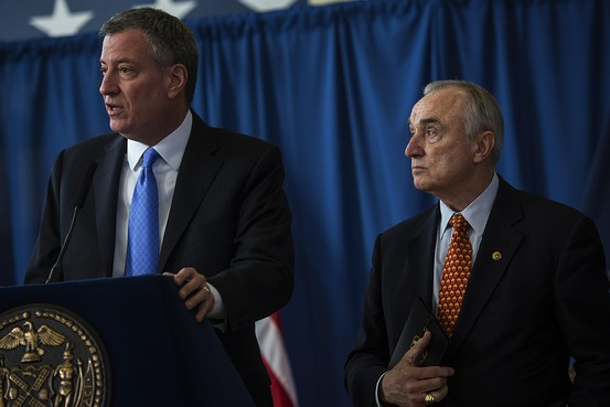 NY Mayor De Blasio Allows Sweeping Changes to NYPD to Halt Stop-and-Frisk