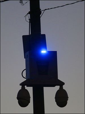 police surveillance cameras credited with curbing crime