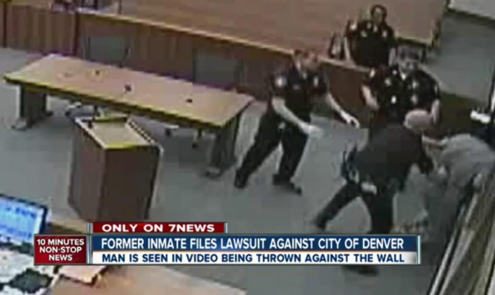 Denver faces another suit for alleged police abuse