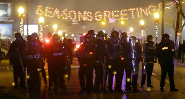 Ferguson Protests: Officer Violently Attacked, Shot During Ferguson-Related …