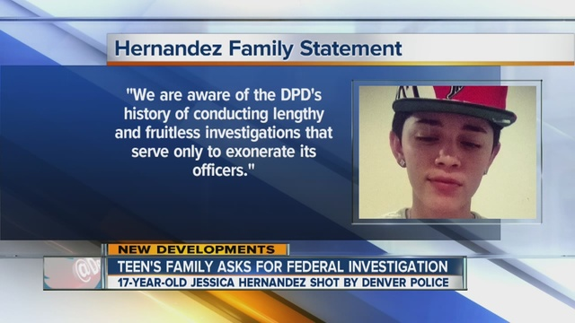 Family of Jessica Hernandez asks DOJ to conduct civil rights investigation …
