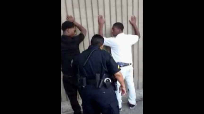 Video Prompts Suspension Of Two College Police Officers