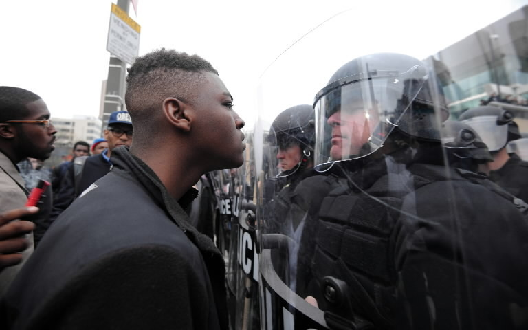 Police and 'Black Baltimore'