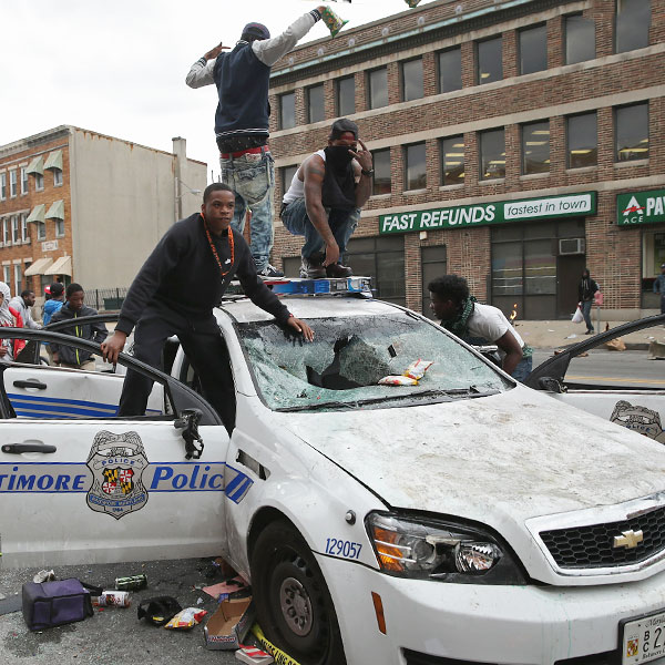 Riot-Plagued Baltimore Is a Catastrophe Entirely of the…