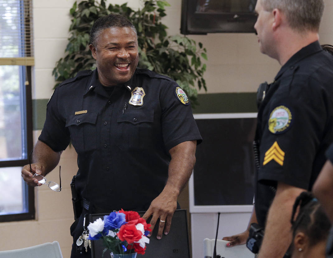 Chattanooga police officers honored for effort to curb crime