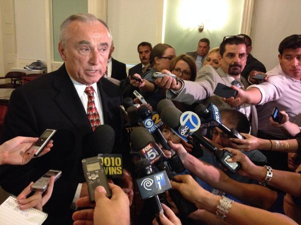 Bratton Highlights New Police Tactics As Alternative To Choke Hold Maneuver