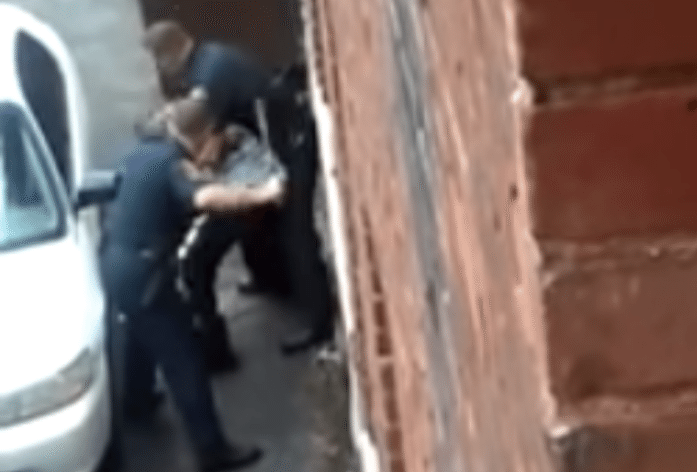 Hartford Police Caught on Camera Beating Bloody Man in Alley