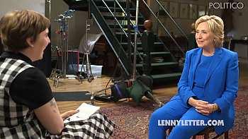 """Hillary Clinton & Lena Dunham Talk Police Abuse, Feminism, & """"Cold Shoulder …"""