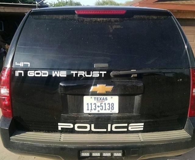 Adrian Garcia, Texas police chief, tells atheist group to 'go fly a kite'