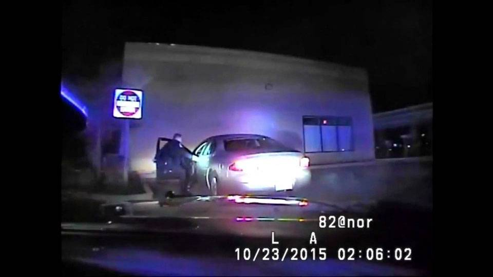 Caught on camera: Michigan woman slams car into police officer after traffic stop