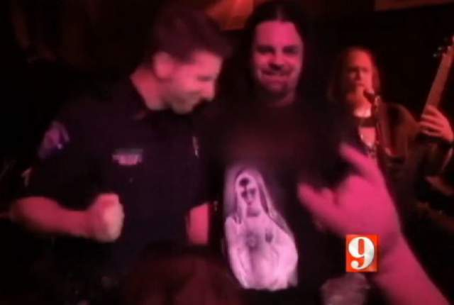 Cop fired after singing with death metal band in uniform