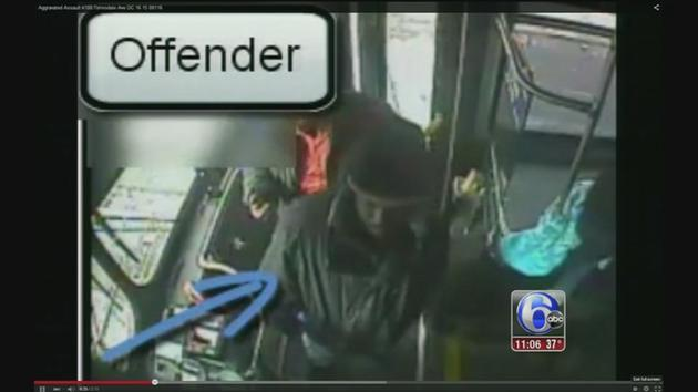 Stabbing on SEPTA bus in Frankford caught on camera