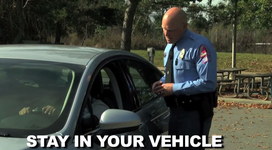 Raleigh police video about what to expect during a traffic stop