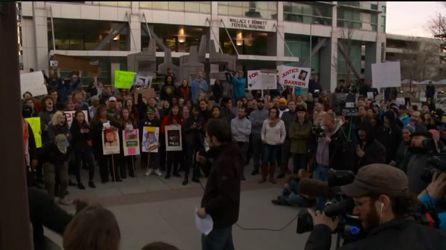 Hundreds gather to march in SLC rally against police brutality