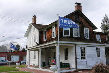 Donald Trump supporter cited for flag flying gets help from ACLU