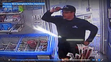 Caught on camera: West Springfield police release video of alleged crime suspect
