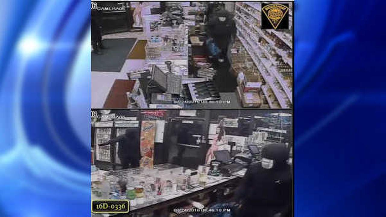 Police looking for 3 men in caught-on-camera Bridgeport liquor store robbery