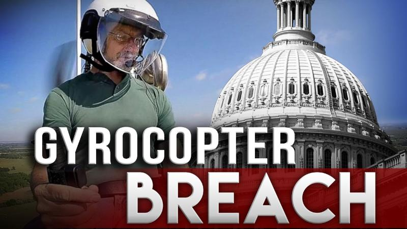 Gyrocopter pilot sentenced in Washington