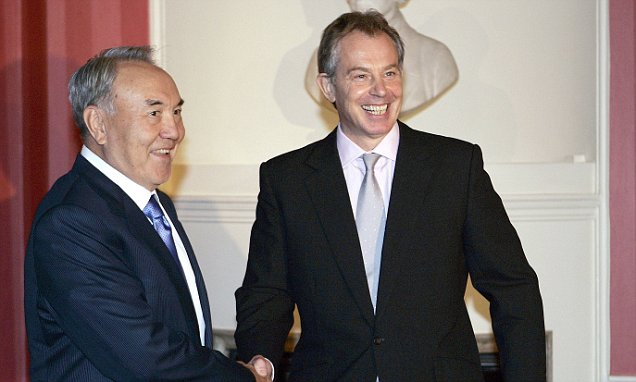 Tony Blair's £5m deal with Kazakh president accused of human rights abuses