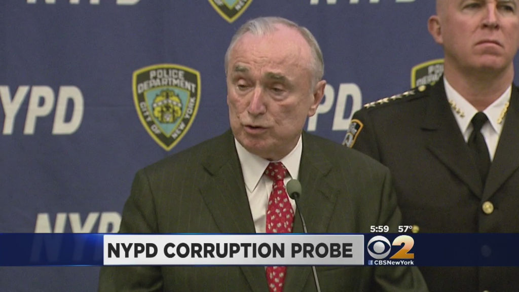 Four high-ranking NYPD officers disciplined amid FBI corruption probe