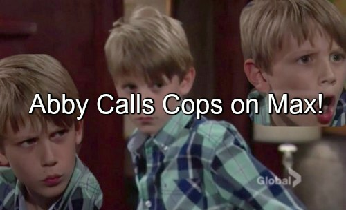 The Young and the Restless (Y&R) Spoilers: Abby Calls Cops on Max for …