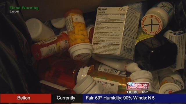Police aim to curb prescription abuse with drug take back