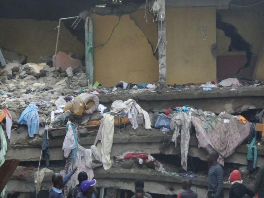 Owner of Huruma collapsed building surrenders himself to the police