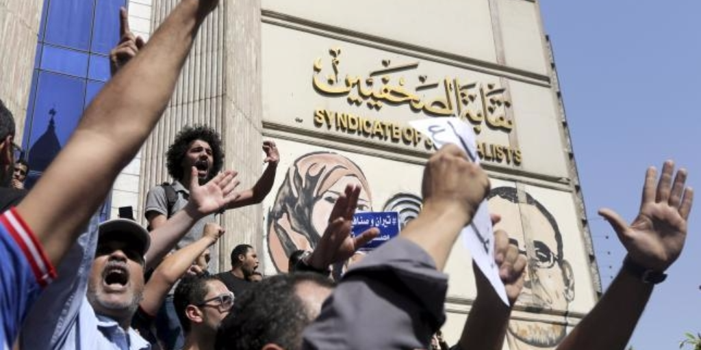 Egypt Police Raid Journalists Syndicate in 'Unprecedented Violation of Law …