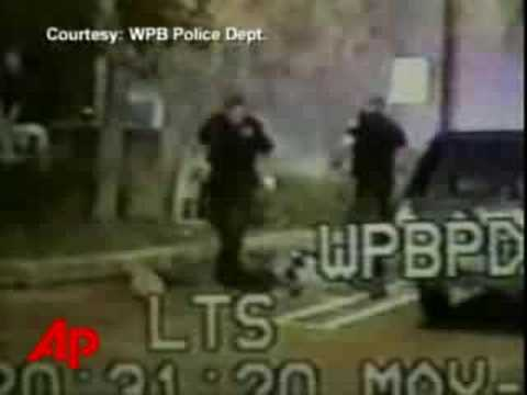 Raw Video: Police Beating Caught on Tape